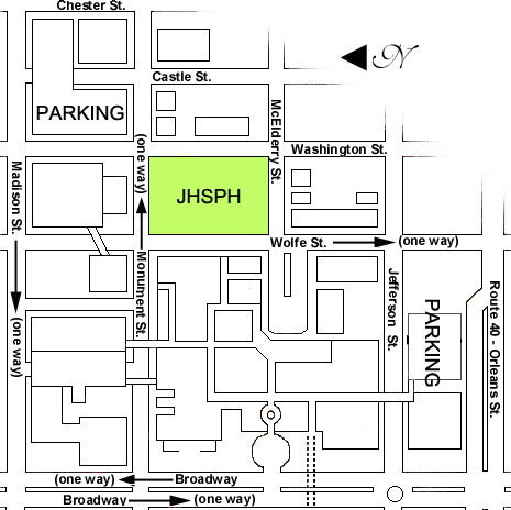 Hopkins Medical Campus Map.Dimopoulos Group Contact